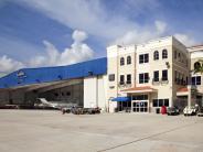 Signature Flight Support FBO Hangar.