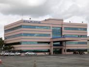 Atlantic Aviation FBO Facility.