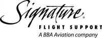 Signature Flight Support. A BBA Aviation Company.