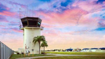 BRAA air traffic control tower