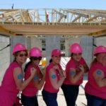 2017 Habitat for Humanity build - BRAA Fly Girls - all women builders