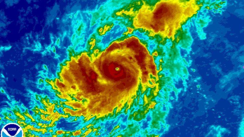 Hurricane preparations NOAA map