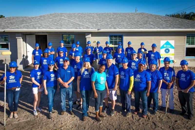 BRAA Habitat for Humanity volunteer day 2017