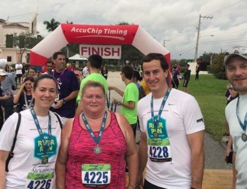 "BRAA Staff ""Run for a Reason"" in the 2018 River Run 5k"