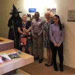 BRAA staff - Halloween 2018 with Fairfield Inn