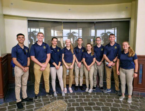 NJROTC Cadets Tour Airport Exploring Career Opportunities