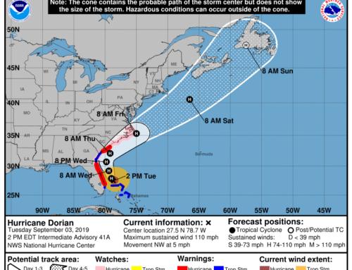 Hurricane Dorian – Airport Status