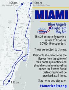 Blue Angel Flight Path