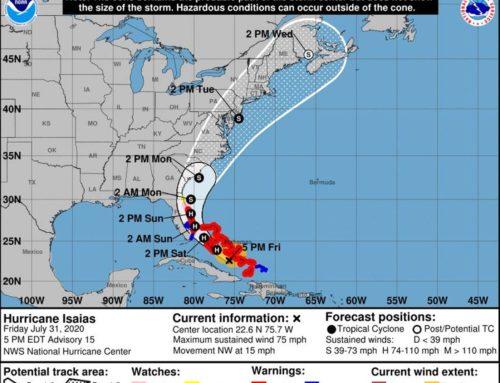 Hurricane Isaias – Airport Status